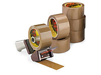 Scotch 3M Set: PP-Packband mit Low-noise Handabroller