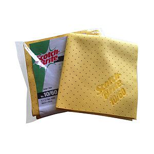Scotch-Brite Panno in camoscio sintetico microforato 10/60 (confezione 5 pezzi)