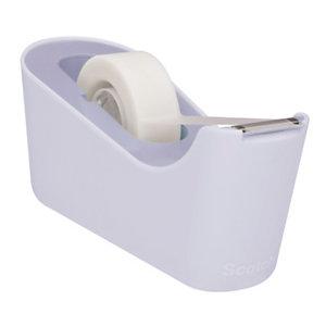 Scotch® C18-L Dispensador de cinta adhesiva de escritorio, lavanda, con cinta invisible Magic™, 19 mm x 33 m