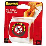 Scotch® Cinta de embalar, polipropileno extrafuerte, Se corta con la mano, 48 mm x 16 m