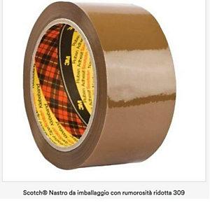 Scotch, Imballaggio e spedizione, Cf6nastro imb309-50mmx60m bianco, 23016A