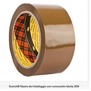 Scotch, Imballaggio e spedizione, Cf6nastro imb309-50mmx60mavana, 85583