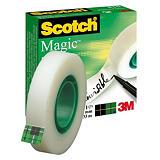 Scotch® Magic™ Cinta invisible de oficina, transparente, 12 mm x 33 m