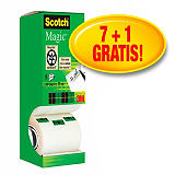 Scotch® Magic™ Cinta invisible de oficina, transparente, 19 mm x 33 m