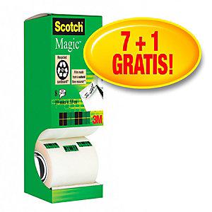 Scotch® Magic™ Nastro adesivo invisibile, Trasparente, 19 mm x 33 m