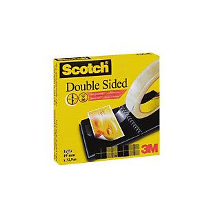 SCOTCH Magic tape dubbelzijdig, 19mm x 33m