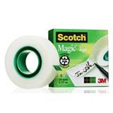 Scotch® Magic Tape Ruban adhésif invisible largeur 19 mm x longueur 33 m