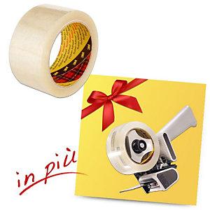 Scotch® Offerta 36 Nastri adesivi in PP 309 Trasparente + 1 Tendinastro H180 compreso nel prezzo
