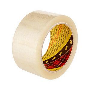 Scotch® Ruban adhésif d'emballage polypropylène silencieux 28 microns - 50 mm x 66 m - Transparent