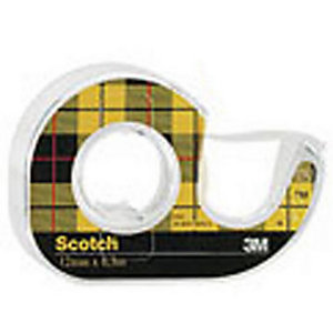 Scotch® Ruban adhésif transparent double face 665 - 12.7 mm x 6.3 m