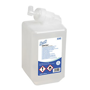 Scott® Control - Mousse hydroalcoolique désinfectante pour les mains sans parfum - Cartouche de 1 L