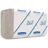 Scott® Performance Toallitas de papel pequeñas plegadas, 1 capa, 300 hojas, interplegado, 215mm, blanco