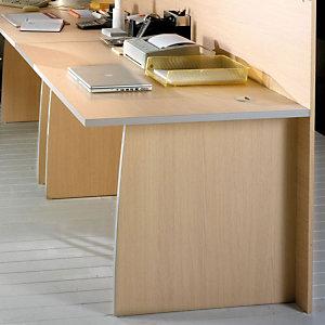 Scrivania per banconi reception Linea Avantis , 80 x 80 x 72 cm, Acero