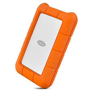 """Seagate Consumer LaCie Rugged USB-C, 2000 GB, 2.5"""", 3.2 Gen 1 (3.1 Gen 1), Naranja, Plata STFR2000800"""