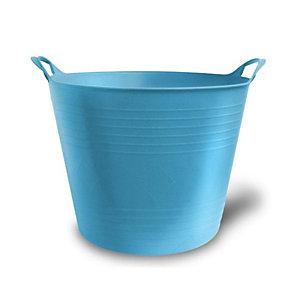 Secchio flessibile - 27 lt- colore azzurro