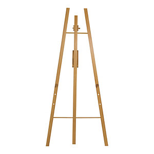Securit® Cavalletto in legno duro, Altezza 165 cm, Teak