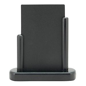 Securit® Lavagna da tavolo Elegant, Formato A6, Nero