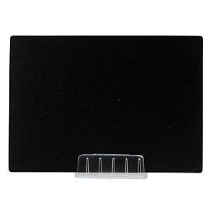 Securit® Supporto - base per lavagne Tag, Trasparente (confezione 10 pezzi)