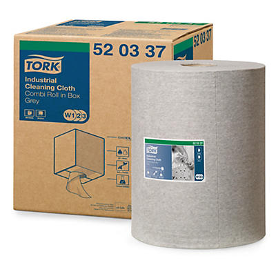 Šedé priemyselné čistiace utierky TORK®