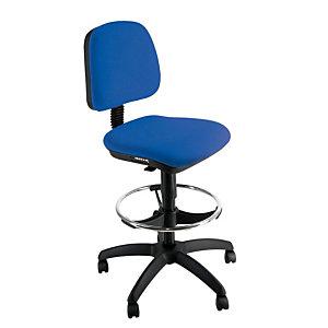 Sedia disegnatore, Tessuto acrilico, Blu