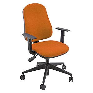 Sedia Operativa Power con ruote Colore Arancio