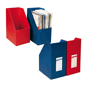 SEI ROTA Portariviste Oblique 150 - 24x32 cm - dorso 15 cm - rosso - Sei Rota