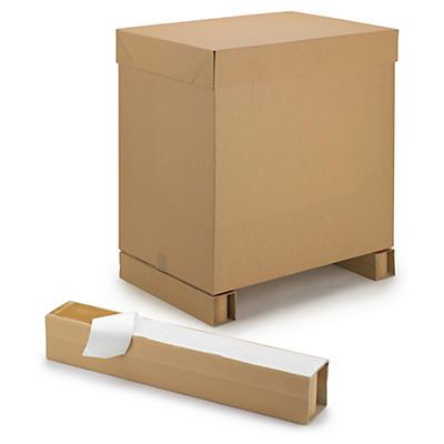 Pied adhésif en carton ultra-résistant##Selbstklebende Palettenkufen aus Karton