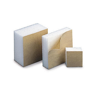 Self-adhesive foam blocks