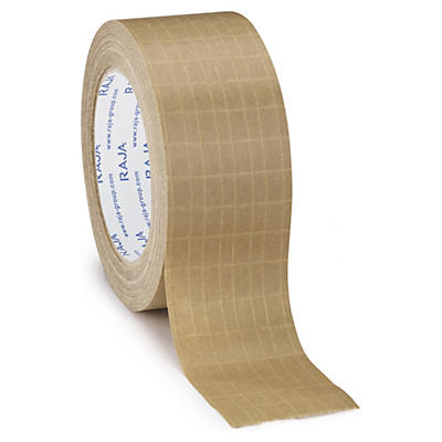 Self-adhesive reinforced paper tape