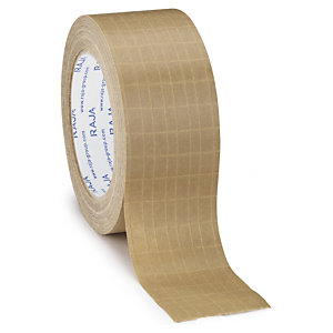 Self-adhesive reinforced tape is strong for those bigger loads