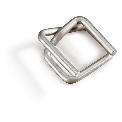 Selvlåsende spænder af stål