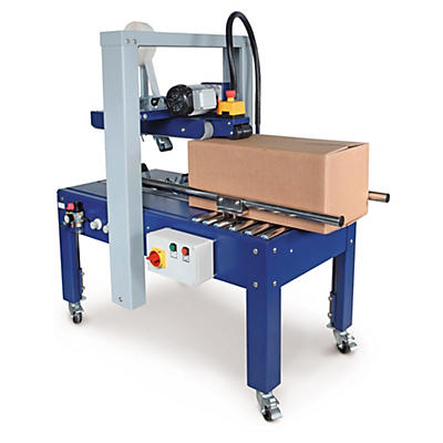 Semi-automatic taping machine with fixed format