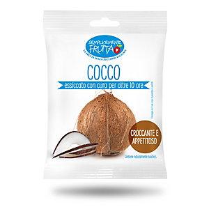 Semplicemente Frutta, Cocco essiccato (confezione 100 grammi)