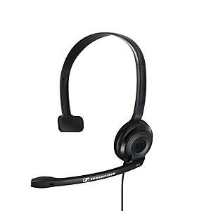 Sennheiser PC2 Chat, PC/Juegos, Diadema, Monoaural, Negro, Alámbrico, 2 m 504194