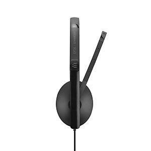 Sennheiser SC 165 USB, Auriculares, Diadema, Oficina/Centro de llamadas, Negro, Binaural, Caja de control en cable 508317