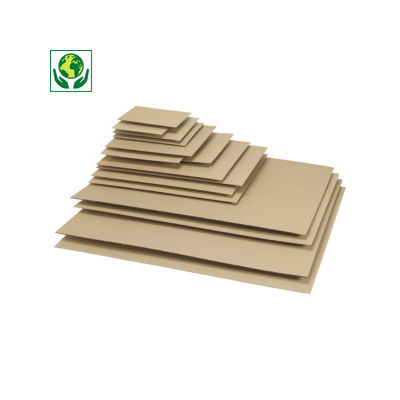 Separador de cartón ondulado para cajas de mudanza