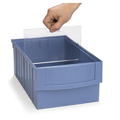 Separadores para gavetas de almacenaje