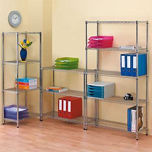 SERENA GROUP Estantería de oficina New Vision - 4 estantes 90 (an) x 45 (prof) cm.