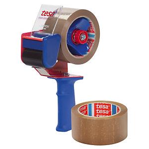 Set houder + 2 rollen PVC-kleefband TESA