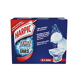 Set van 8 ontkalkende tabletten Harpic 3 in 1 Active