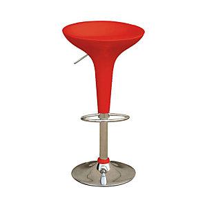 Sgabello bar, Colore rosso