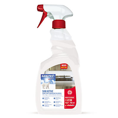 Sgrassante igienizzante spray universale Sanitec Sani Active