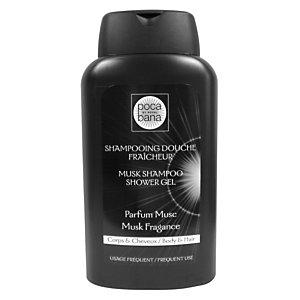 Shampoing douche Poca Bana Musc, flacon de 300 ml