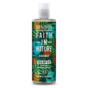 Shampoo Idratante Cocco Faith in Nature, Flacone 400 ml