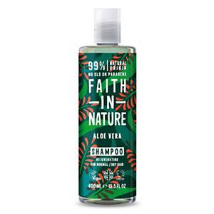 Shampoo Rigenerante Aloe Vera Faith in Nature, Flacone 400 ml
