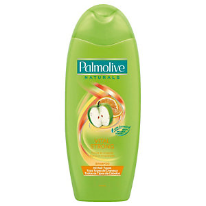 Shampooing Palmolive Naturals parfum pomme, flacon de 350 ml