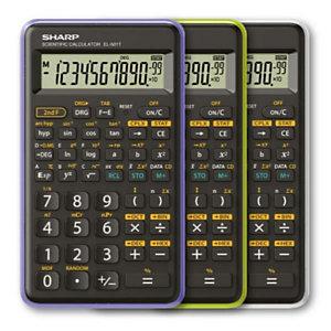 Sharp, Calcolatrici, El 501tb-vl - verde, EL-501TBGR