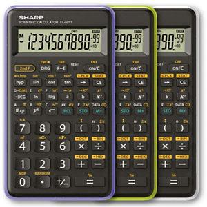 Sharp, Calcolatrici, El 501tb-vl - viola, EL-501TBVL