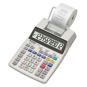 Sharp, Calcolatrici, El1750v, EL1750V