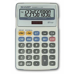 Sharp, Calcolatrici, El334fb, SH-EL334FB